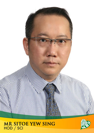Mr Sitoe Yew Sing (HOD/Science)